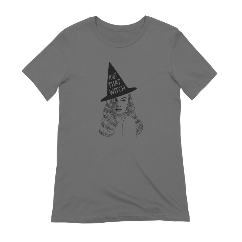100% that witch Women's T-Shirt by Kate Gabrielle's Threadless Shop
