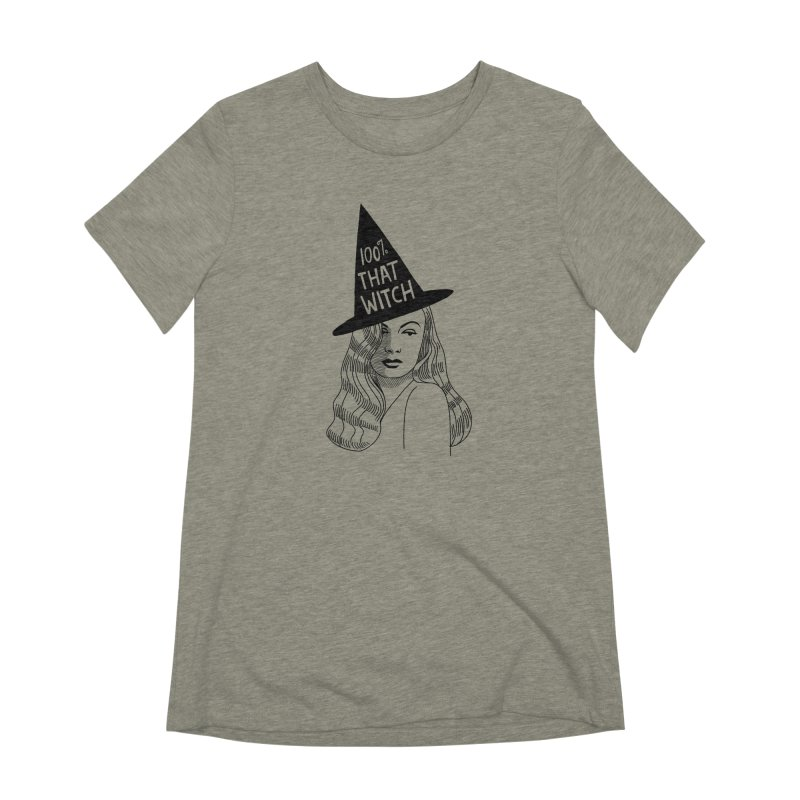 100% that witch Women's Extra Soft T-Shirt by Kate Gabrielle's Threadless Shop