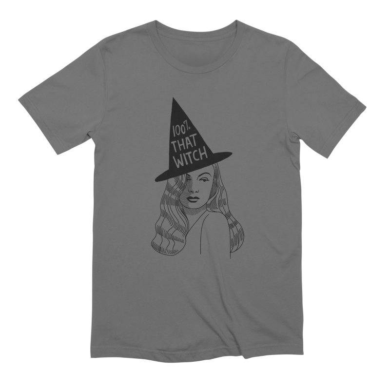 100% that witch Men's Extra Soft T-Shirt by Kate Gabrielle's Threadless Shop