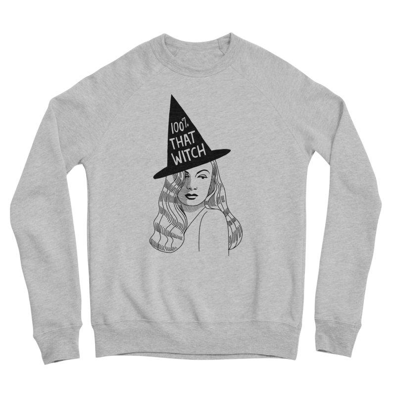 100% that witch Men's Sponge Fleece Sweatshirt by Kate Gabrielle's Threadless Shop