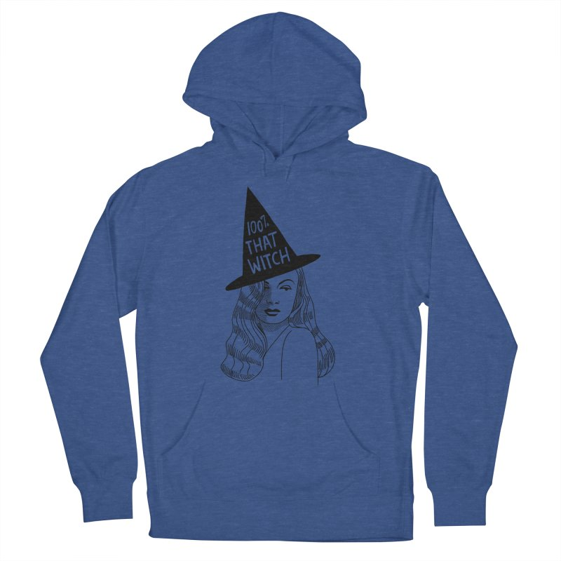 100% that witch Men's French Terry Pullover Hoody by Kate Gabrielle's Threadless Shop