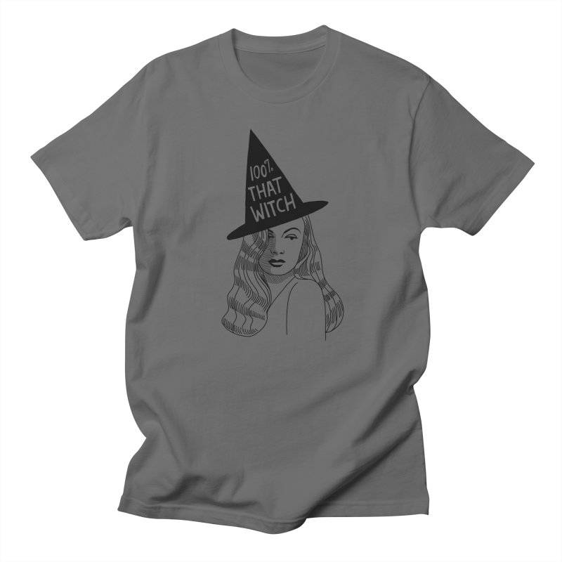 100% that witch Men's T-Shirt by Kate Gabrielle's Threadless Shop