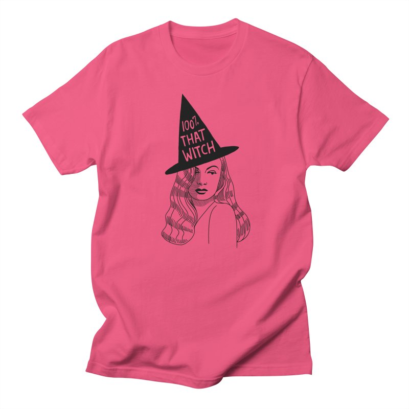 100% that witch Men's Regular T-Shirt by Kate Gabrielle's Threadless Shop