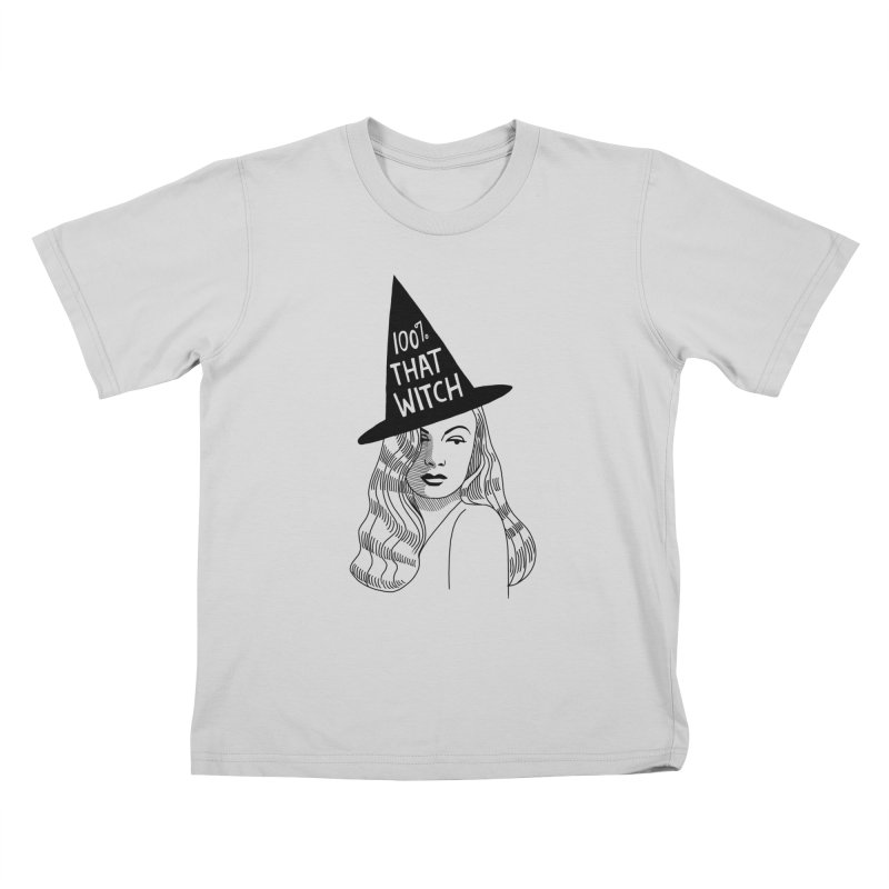 100% that witch Kids T-Shirt by Kate Gabrielle's Threadless Shop