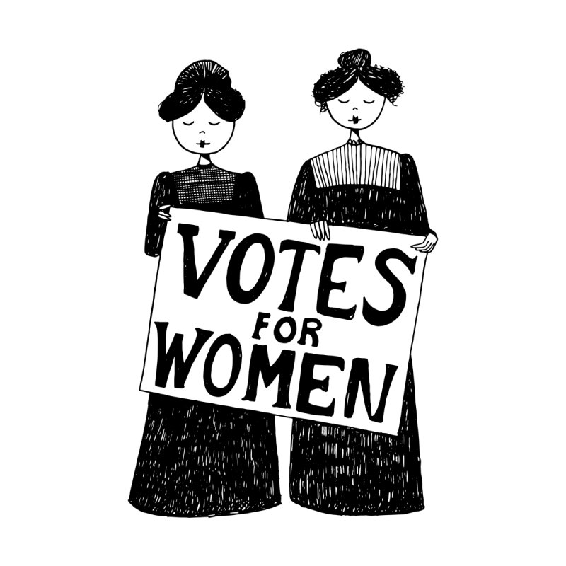 Votes for Women by Kate Gabrielle's Threadless Shop