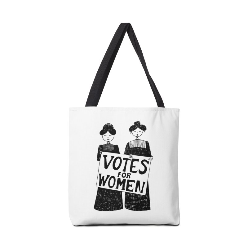 Votes for Women Accessories Tote Bag Bag by Kate Gabrielle's Threadless Shop