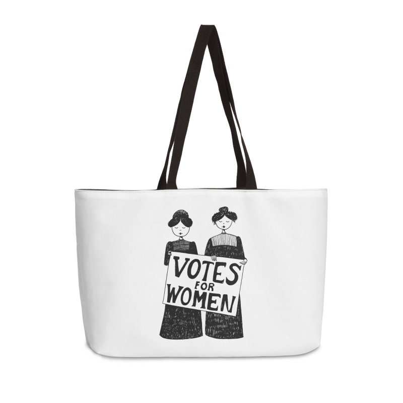 Votes for Women Accessories Weekender Bag Bag by Kate Gabrielle's Threadless Shop
