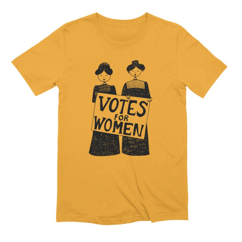 Votes for Women Men's Extra Soft T-Shirt by Kate Gabrielle's Threadless Shop