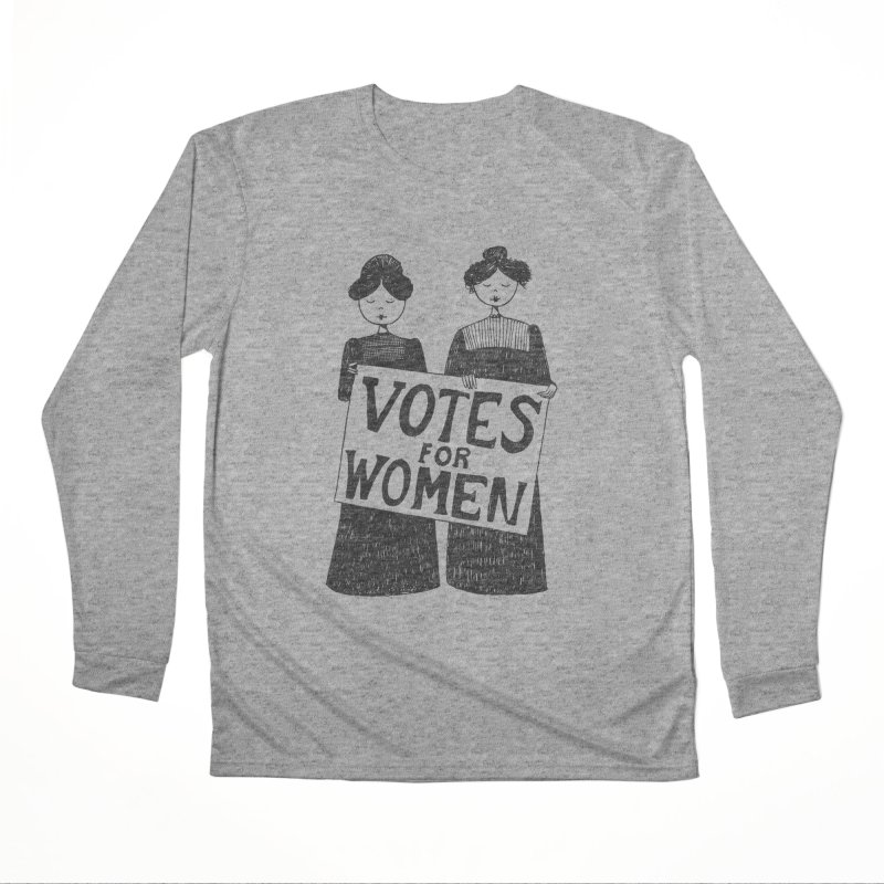Votes for Women Men's Performance Longsleeve T-Shirt by Kate Gabrielle's Threadless Shop