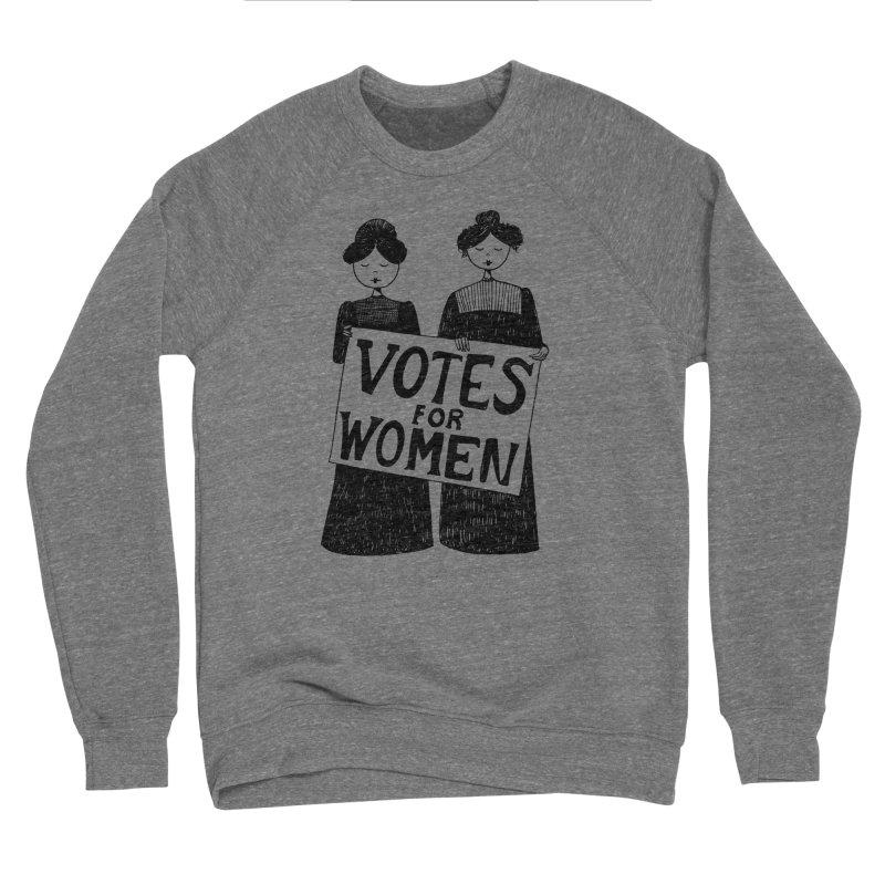 Votes for Women Men's Sponge Fleece Sweatshirt by Kate Gabrielle's Threadless Shop