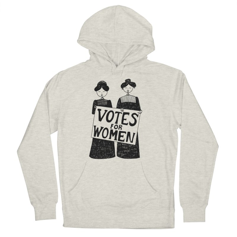 Votes for Women Women's French Terry Pullover Hoody by Kate Gabrielle's Threadless Shop