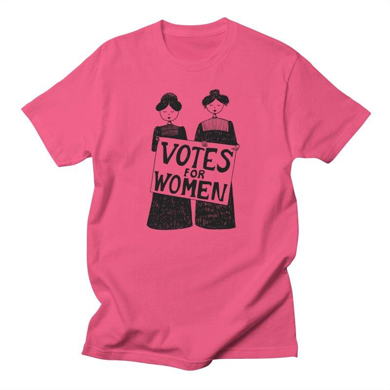 Votes for Women Women's Regular Unisex T-Shirt by Kate Gabrielle's Threadless Shop