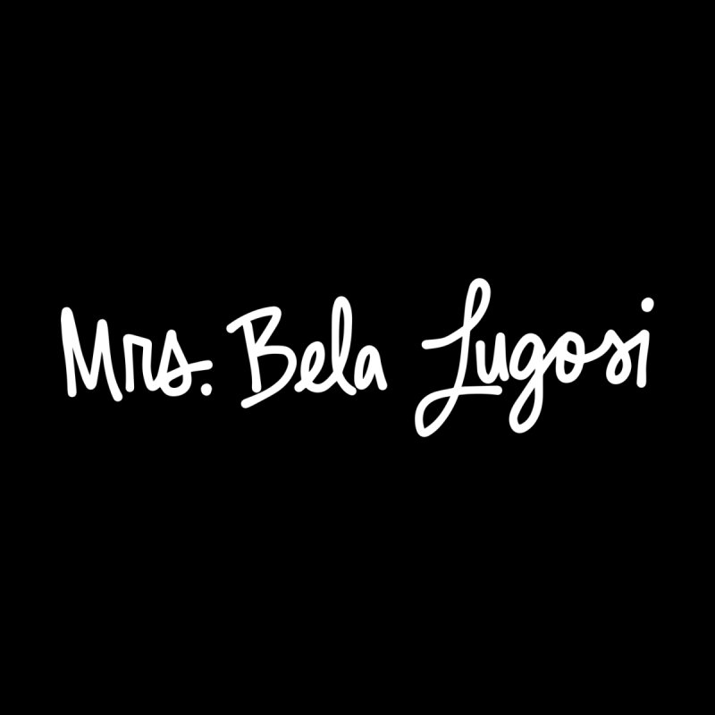 Mrs. Bela Lugosi by Kate Gabrielle's Threadless Shop