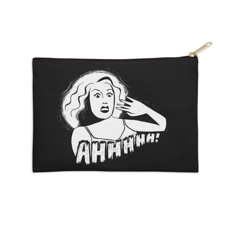 Ahhhhh! Accessories Zip Pouch by Kate Gabrielle's Threadless Shop