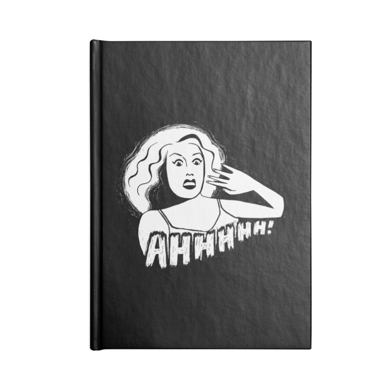 Ahhhhh! Accessories Lined Journal Notebook by Kate Gabrielle's Threadless Shop