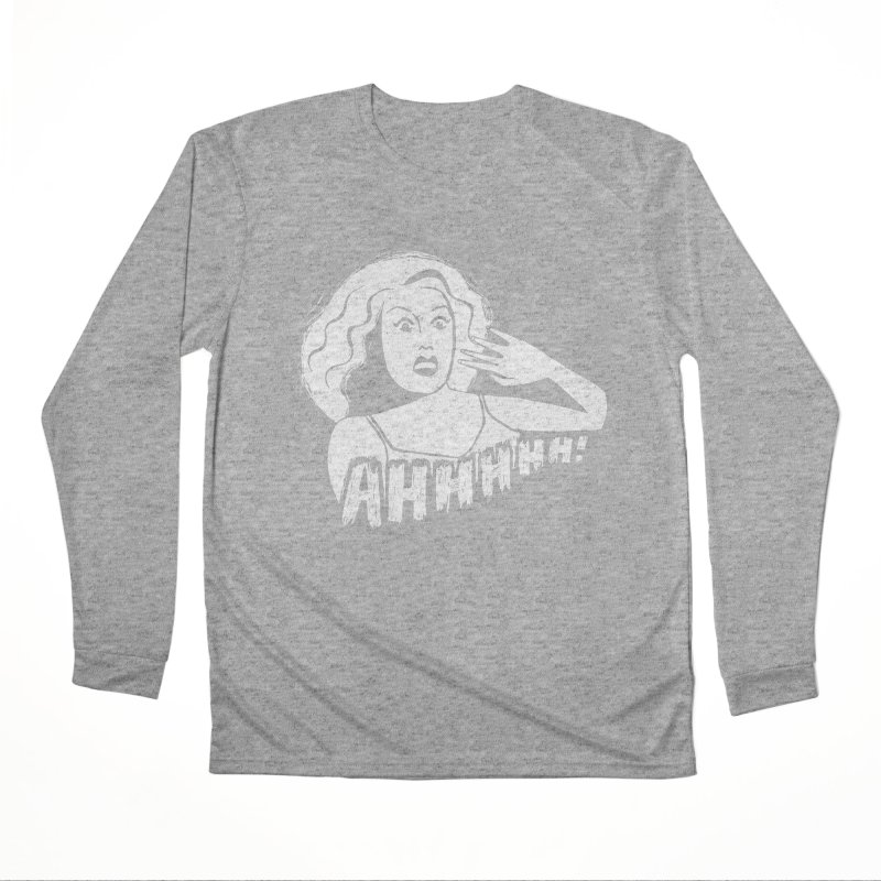Ahhhhh! Women's Performance Unisex Longsleeve T-Shirt by Kate Gabrielle's Threadless Shop