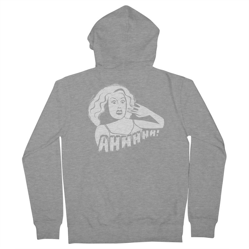 Ahhhhh! Women's French Terry Zip-Up Hoody by Kate Gabrielle's Threadless Shop