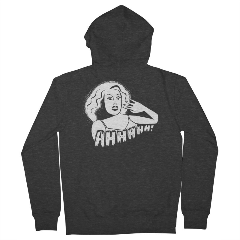 Ahhhhh! Men's French Terry Zip-Up Hoody by Kate Gabrielle's Threadless Shop