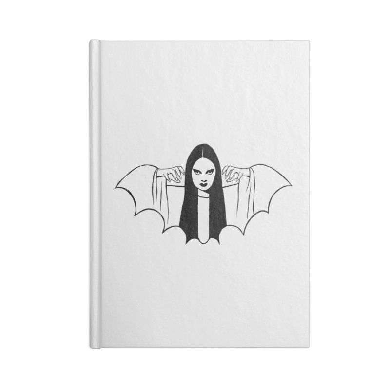 Luna Accessories Lined Journal Notebook by Kate Gabrielle's Threadless Shop