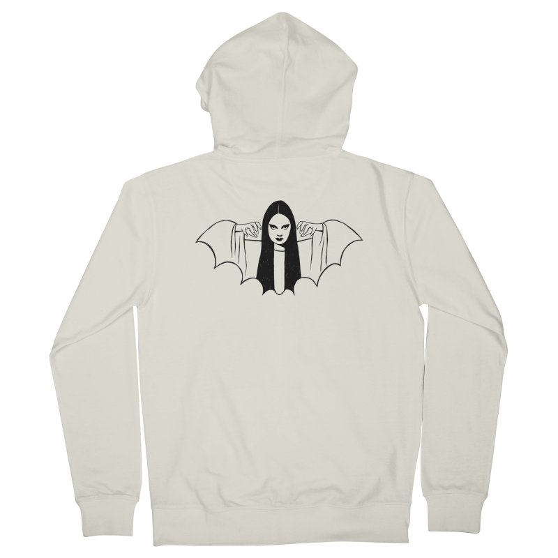Luna Women's French Terry Zip-Up Hoody by Kate Gabrielle's Threadless Shop