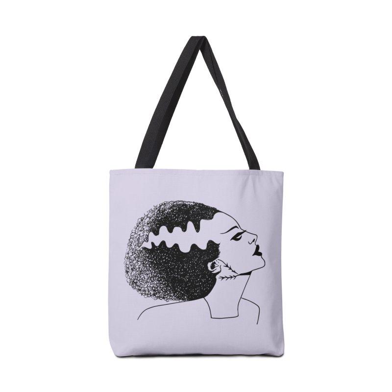 Bride of Frankenstein Accessories Tote Bag Bag by Kate Gabrielle's Threadless Shop