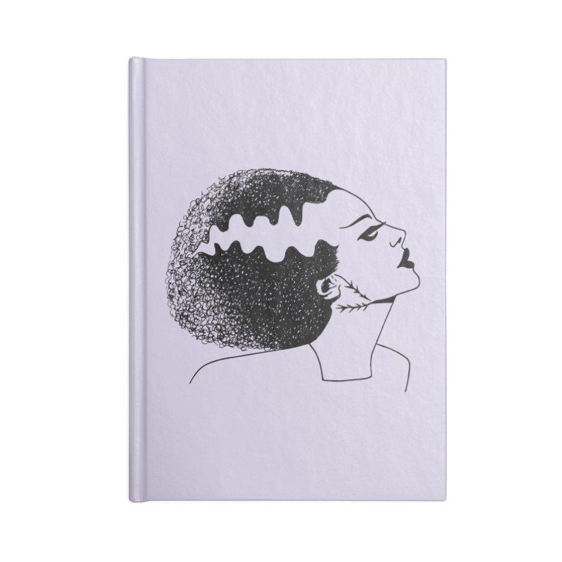 Bride of Frankenstein Accessories Blank Journal Notebook by Kate Gabrielle's Threadless Shop