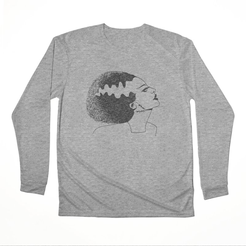 Bride of Frankenstein Men's Performance Longsleeve T-Shirt by Kate Gabrielle's Threadless Shop