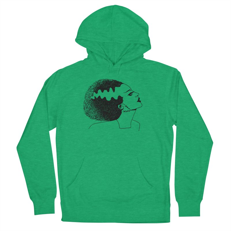 Bride of Frankenstein Men's French Terry Pullover Hoody by Kate Gabrielle's Threadless Shop