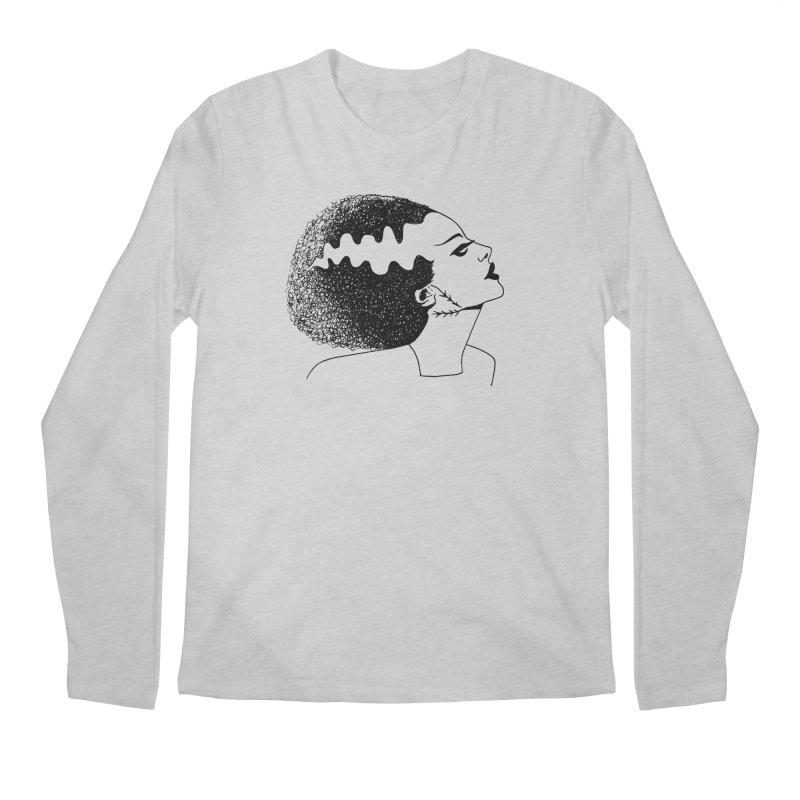 Bride of Frankenstein Men's Regular Longsleeve T-Shirt by Kate Gabrielle's Threadless Shop