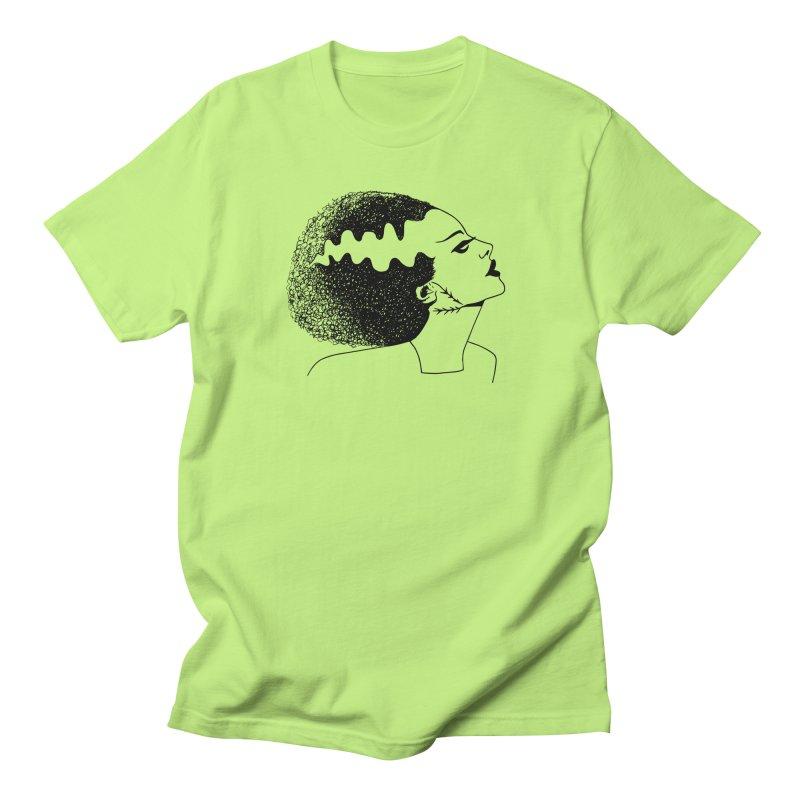Bride of Frankenstein Women's Regular Unisex T-Shirt by Kate Gabrielle's Threadless Shop