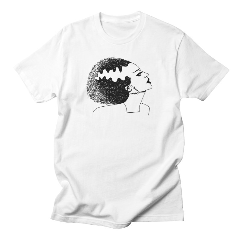 Bride of Frankenstein Men's Regular T-Shirt by Kate Gabrielle's Threadless Shop