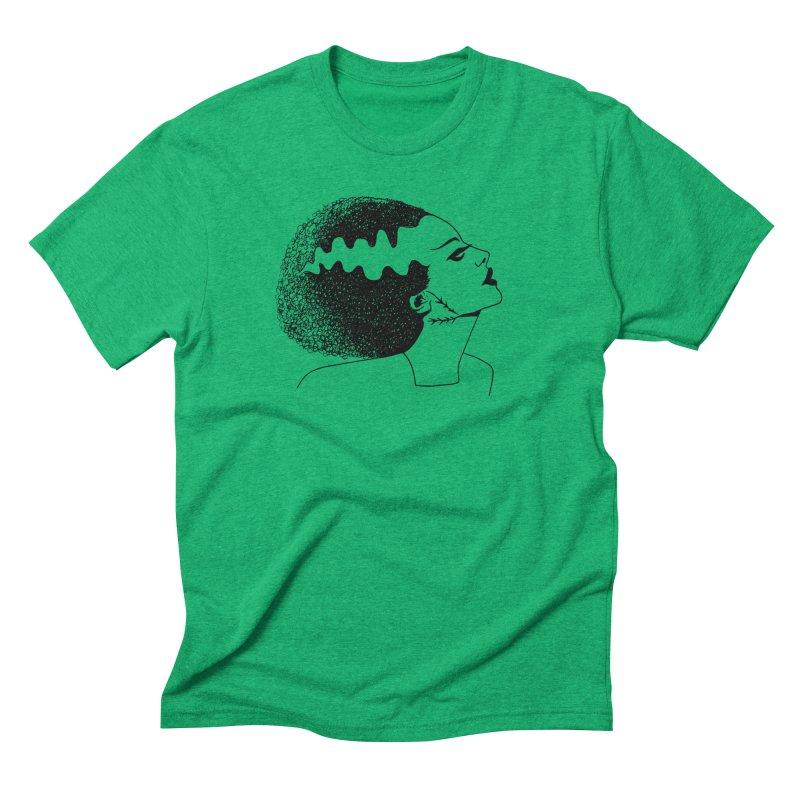 Bride of Frankenstein Men's Triblend T-Shirt by Kate Gabrielle's Threadless Shop