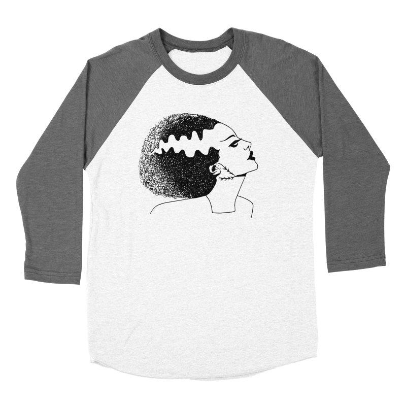 Bride of Frankenstein Women's Baseball Triblend Longsleeve T-Shirt by Kate Gabrielle's Threadless Shop
