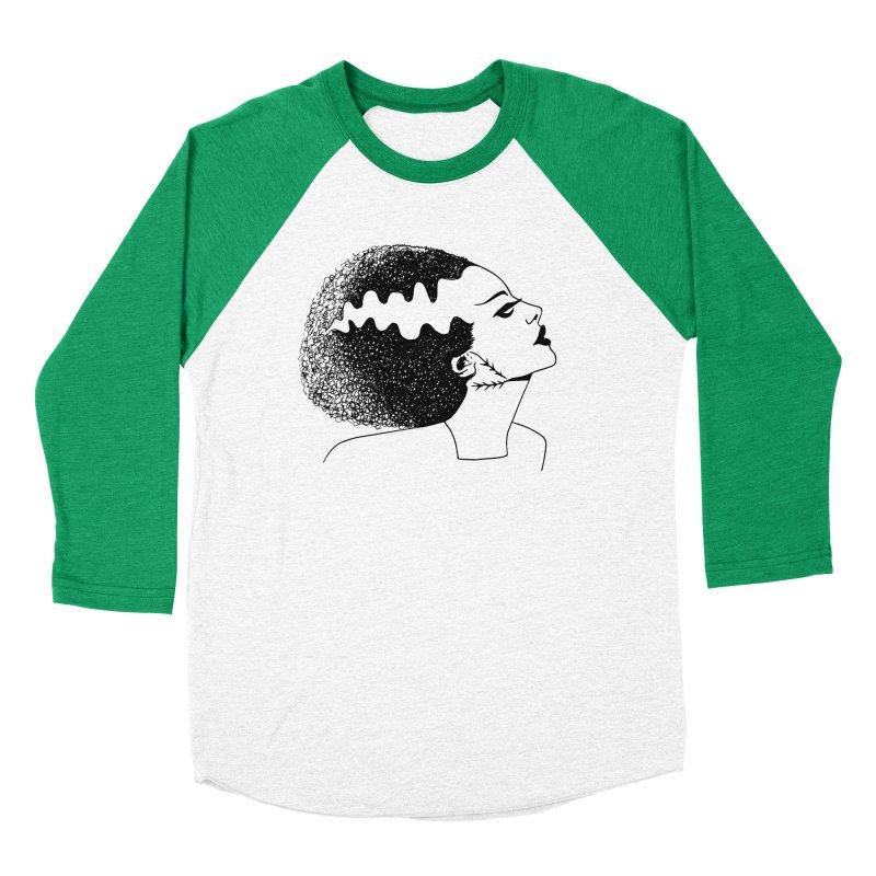 Bride of Frankenstein Men's Baseball Triblend Longsleeve T-Shirt by Kate Gabrielle's Threadless Shop