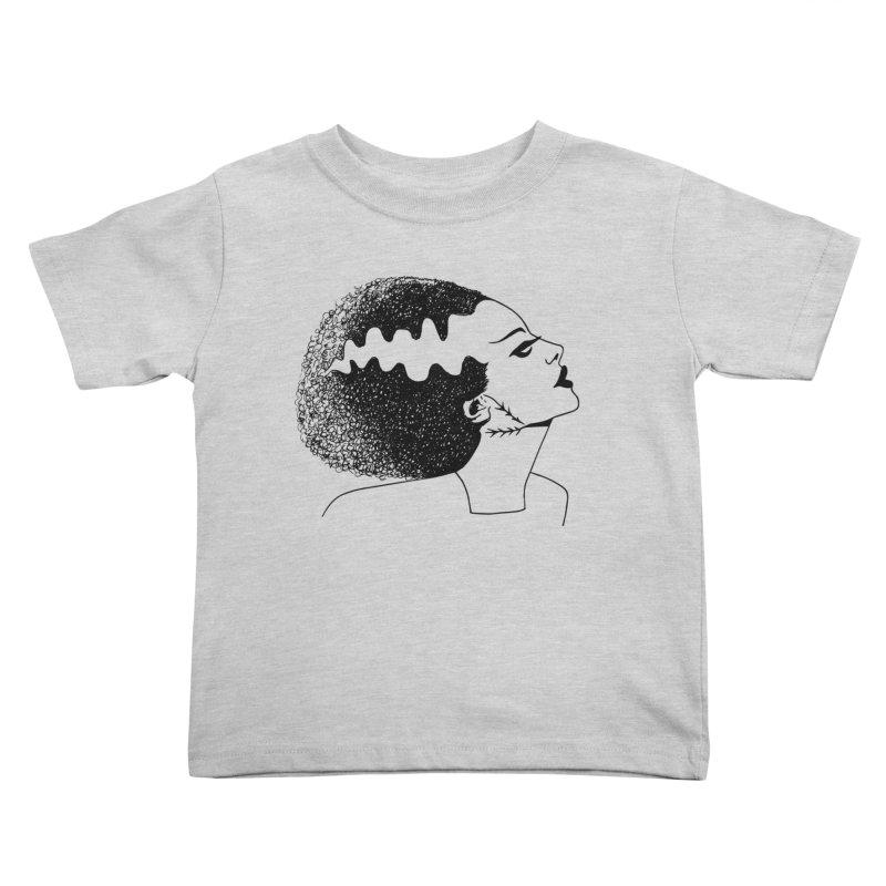 Bride of Frankenstein Kids Toddler T-Shirt by Kate Gabrielle's Threadless Shop