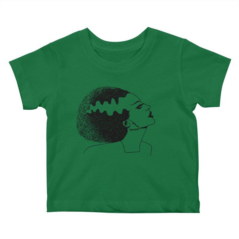 Bride of Frankenstein Kids Baby T-Shirt by Kate Gabrielle's Threadless Shop