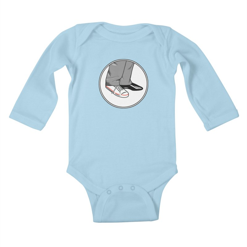 Sunday in New York shoes Kids Baby Longsleeve Bodysuit by Kate Gabrielle's Threadless Shop