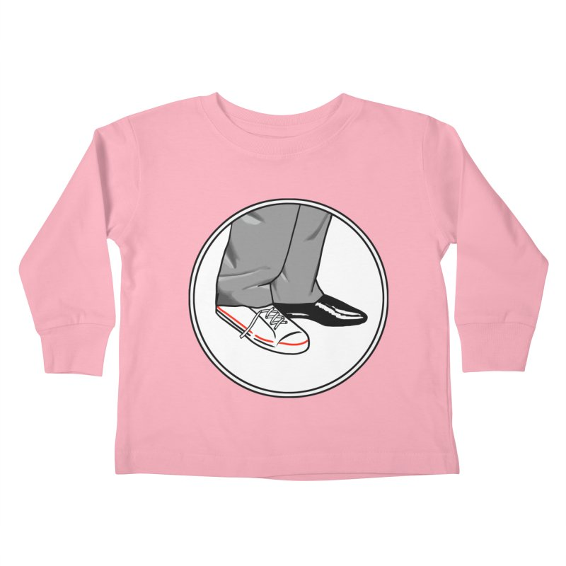 Sunday in New York shoes Kids Toddler Longsleeve T-Shirt by Kate Gabrielle's Threadless Shop