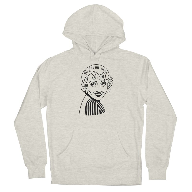 Joan Blondell Women's French Terry Pullover Hoody by Kate Gabrielle's Threadless Shop