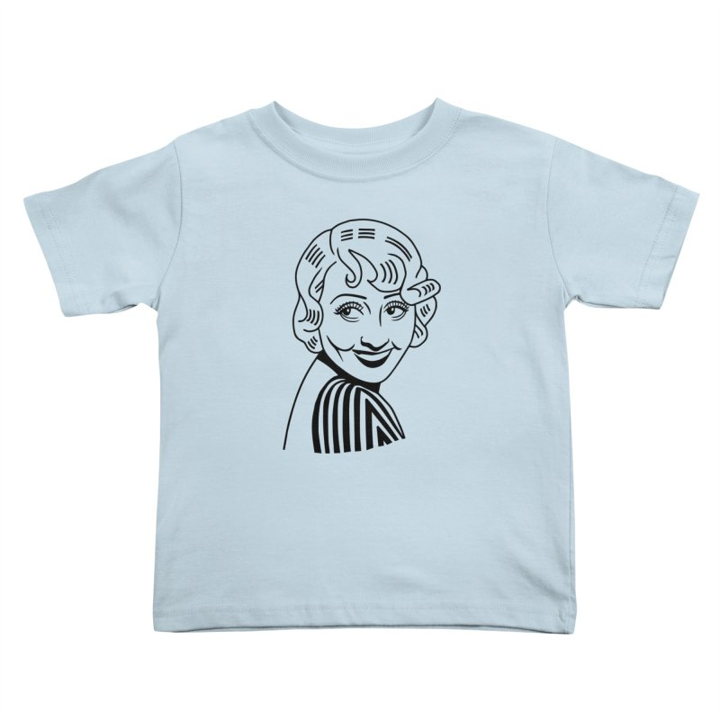 Joan Blondell Kids Toddler T-Shirt by Kate Gabrielle's Threadless Shop