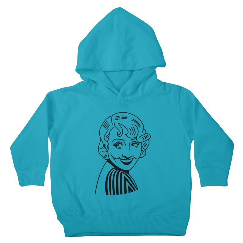 Joan Blondell Kids Toddler Pullover Hoody by Kate Gabrielle's Threadless Shop