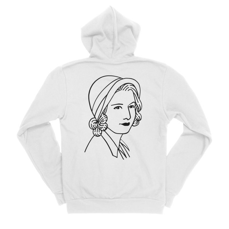 Baby Face Women's Zip-Up Hoody by Kate Gabrielle's Threadless Shop