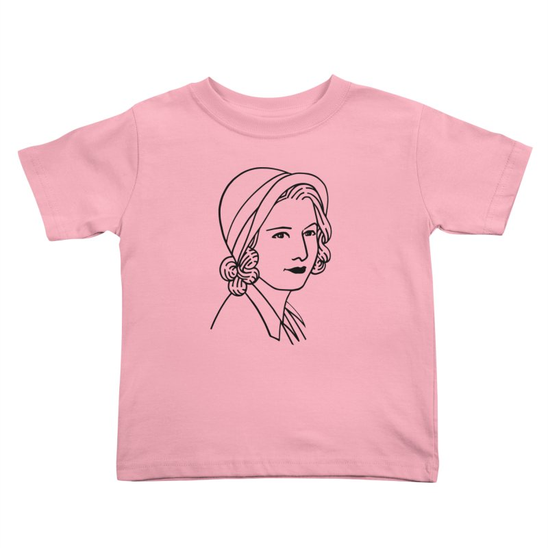 Baby Face Kids Toddler T-Shirt by Kate Gabrielle's Threadless Shop