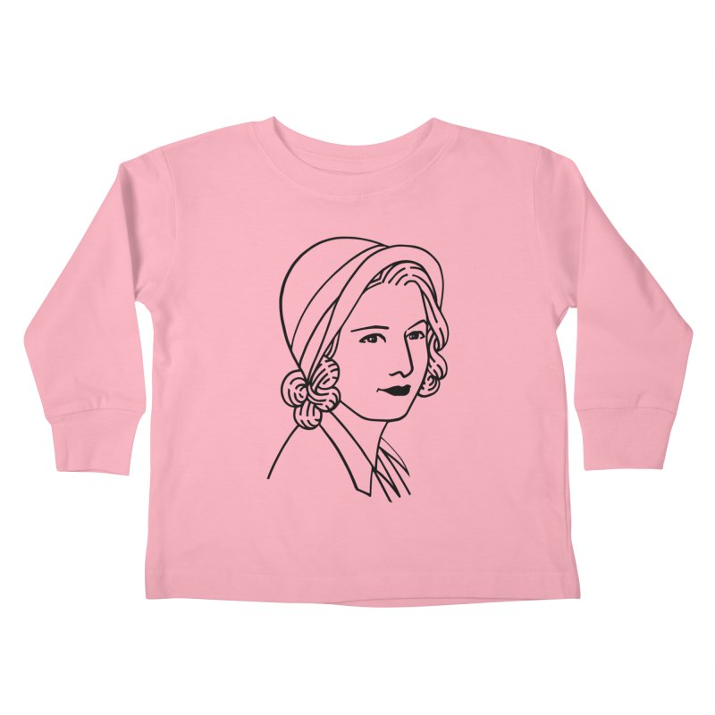 Baby Face Kids Toddler Longsleeve T-Shirt by Kate Gabrielle's Threadless Shop