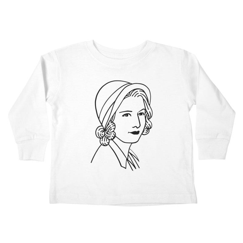Baby Face Kids Toddler Longsleeve T-Shirt by Kate Gabrielle's Threadless Shop