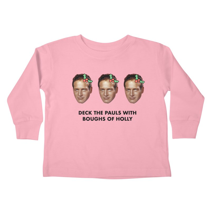 Deck the Pauls Kids Toddler Longsleeve T-Shirt by Kate Gabrielle's Threadless Shop