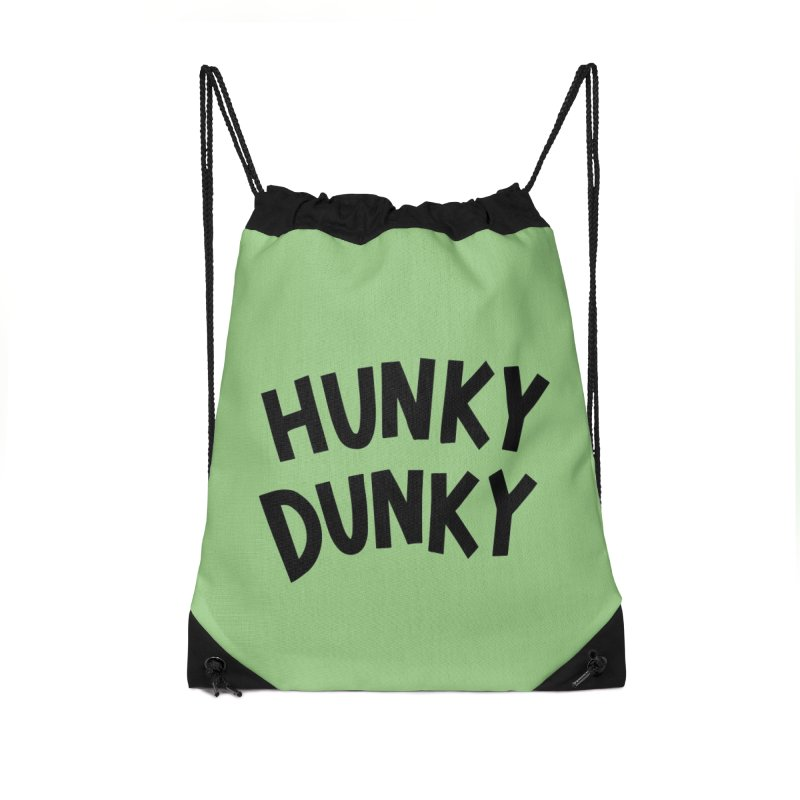 Hunky Dunky Accessories Drawstring Bag Bag by Kate Gabrielle's Threadless Shop