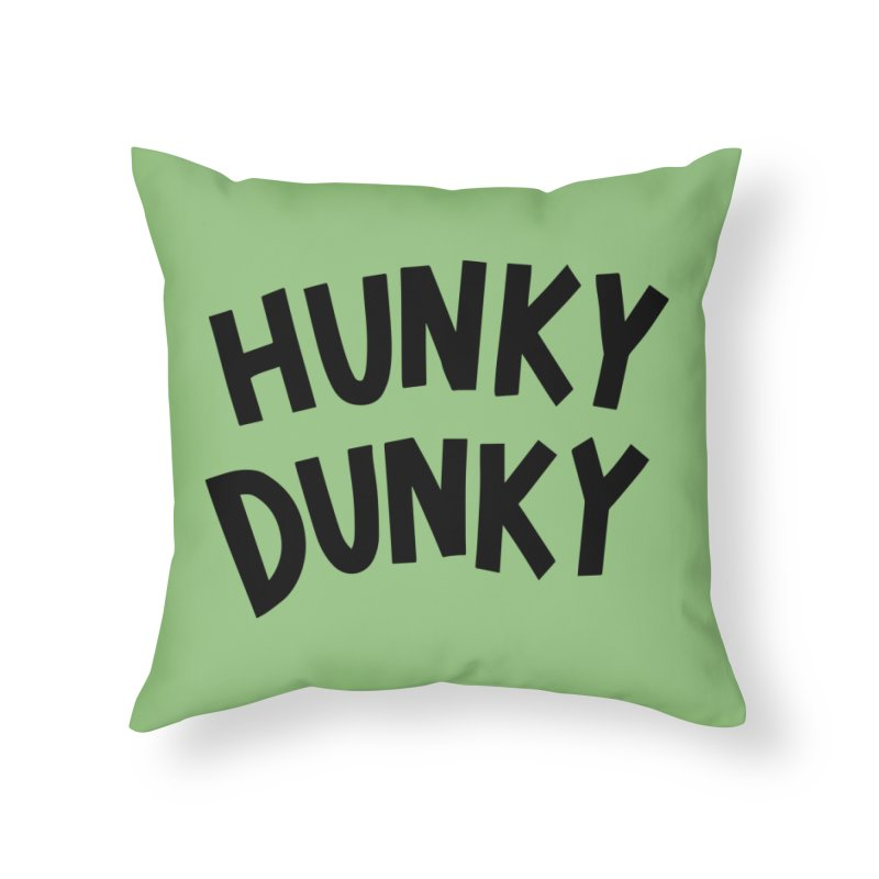 Hunky Dunky Home Throw Pillow by Kate Gabrielle's Threadless Shop