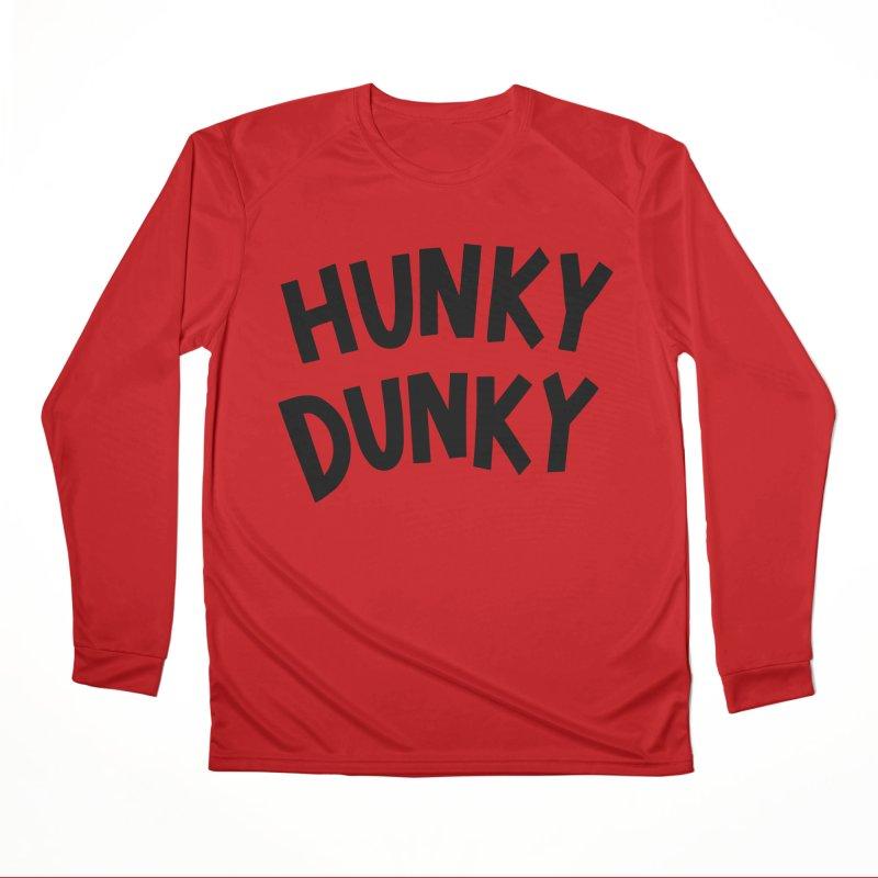 Hunky Dunky Men's Performance Longsleeve T-Shirt by Kate Gabrielle's Threadless Shop