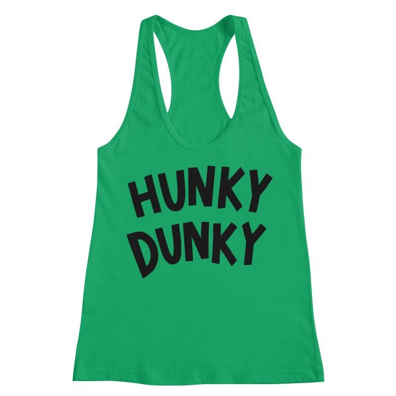Hunky Dunky Women's Racerback Tank by Kate Gabrielle's Threadless Shop